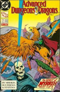 DC ADVANCED DUNGEONS & DRAGONS #7 VF