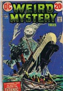 Weird Mystery Tales #2 ORIGINAL Vintage 1972 DC Comics Titanic