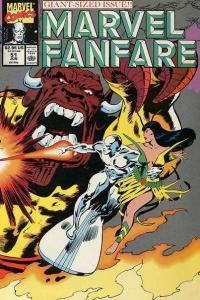 Marvel Fanfare (1982 series) #51, NM- (Stock photo)