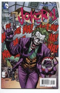 Batman-#23.1 DC comic book-Joker-#1-Joker origin issue