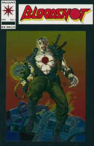 BLOODSHOT  25-Different, Valiant Comics' Flagship Title