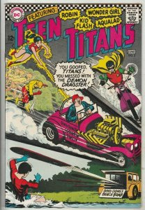Teen Titans, The # 3 Strict FN/VF+ High-Grade 1st Ding Dong, Big Daddy Roth