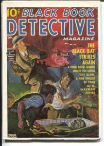 Black Book Detective 11/1939-James Hanos reprint-Black Bat Strikes Again-VF