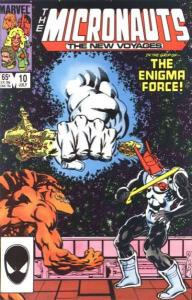 Micronauts (1984 series) #10, NM- (Stock photo)