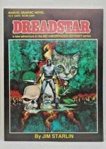 Marvel Graphic Novel # 3: Dreadstar (1982) 2nd print, NM (9.4), Starlin