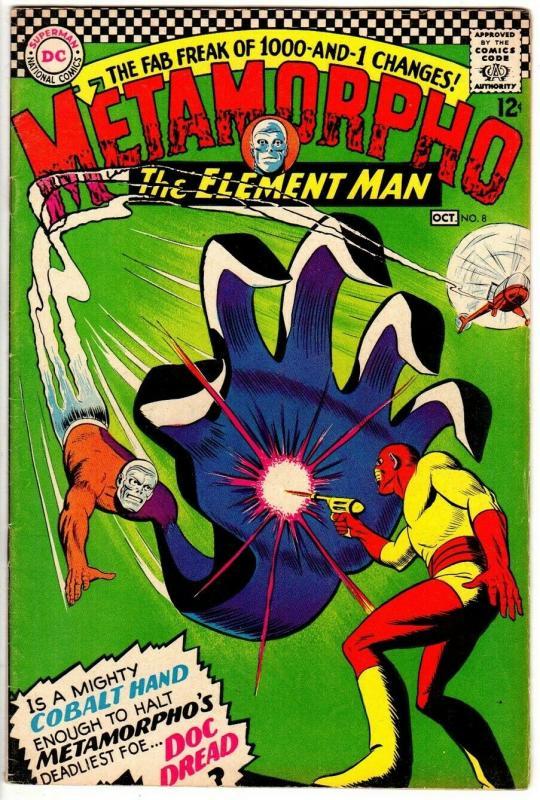 METAMORPHO 8 F  Sept.-Oct. 1966