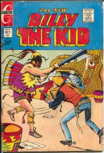 Billy The Kid #95 1972-Charlton-Aztec terror-FR