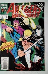 Avengers West Coast #97 (1993) Marvel Comic Book J757