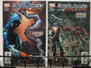 CAPTAIN AMERICA AND THE FALCON (Marvel 2004) #13-14 'American Psycho' C Priest!
