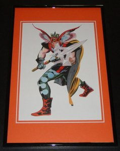 New Thor 1968 Framed 11x17 Photo Display Official Repro Jack Kirby