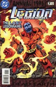 Legion of Super-Heroes (1989 series) Annual #7, NM- (Stock photo)