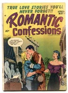Romantic Confessions Vol 2 #7 1952- Golden Age G/VG
