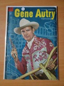 Gene Autry Comics #90 ~ VERY GOOD VG ~ 1954 Dell Comics