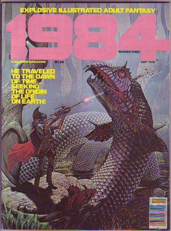 1984 #3 (Sep-78) NM- High-Grade