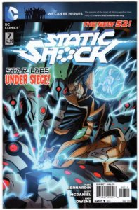 STATIC SHOCK #7 (VF/NM) 1¢ Auction going on! See More!!!
