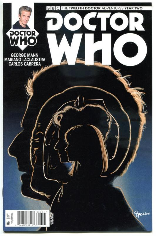 DOCTOR WHO #6 E, NM, 12th, Tardis, 2016, Titan, 1st, more DW in store, Sci-fi