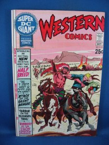 Super DC Giant #S-15 (Sep-Oct 1970, DC) WESTERN COMICS VF