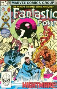 Fantastic Four (1961 series) #248, VF+ (Stock photo)