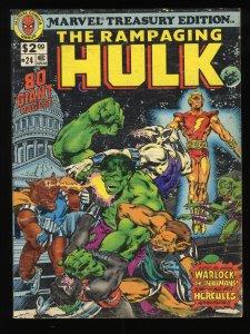 Marvel Treasury Edition #24 Rampaging Huk!