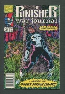 Punisher War Journal #20  / 9.6 NM+ / Newsstand / July 1990