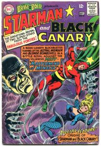 Brave And The Bold #61 1965-Origin of STARMAN and BLACK CANARY
