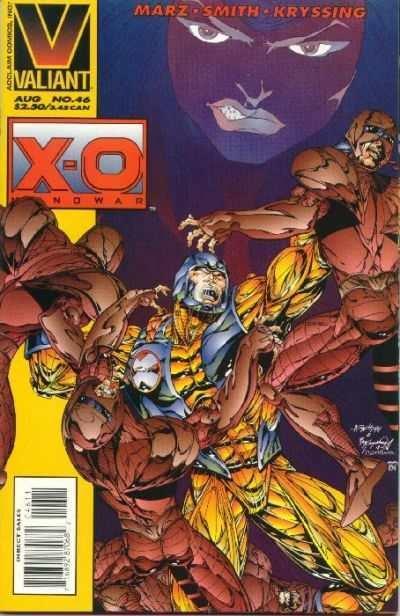 X-O Manowar (1992 series) #46, NM + (Stock photo)