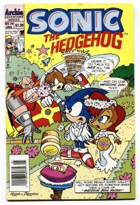 Sonic The Hedgehog #18 1994-archie Comics-sega