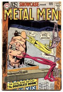 SHOWCASE #39-METAL MEN-DC SILVER AGE COMIC BOOK-vg