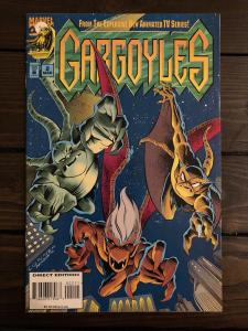 Gargoyles #2 (1995, Marvel) NM Based on the Disney Animated TV Series Scarce HTF