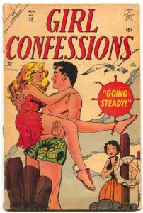 Girl Confessions #35 1954- Colletta- Maneely Romance story G