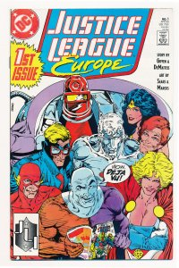 Justice League Europe (1989) #1 VF