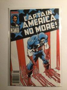 Captain America 332 Very fine vf 8.0 Newsstand edition Marvel