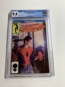 Amazing Spider-man 262 Cgc 9.8 White Pages Marvel Copper Age