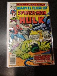 Marvel-Team-Up-54-Spider-Man-amp-The-Hulk VF+