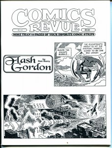 Comics Revue #135 1997-Dan Barry-Flash Gordon-Phantom-Modesty Blaise-VF