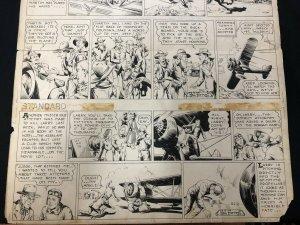 Tailspin Tommy Original Sunday Comic Art #392 April 18 1937- Hal Forrest