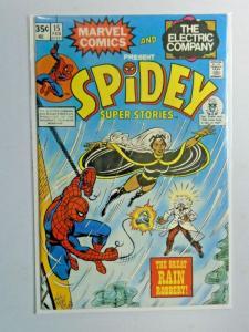 Spidey Super Stories #15 1st Series water damage 3.0 (1976)