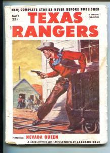 TEXAS RANGERS-05/1952-WESTERN PULP THRILLS-JIM HATFIELD-good