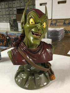 Green Goblin Bust Legends In 3 Dimensions Statue Signed By Artist Greg Amnowitz