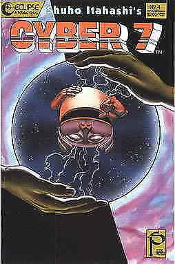 Cyber 7 #4 VF/NM; Eclipse | save on shipping - details inside