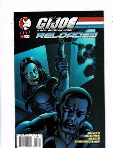 Lot of 5 GI Joe Reloaded DDP Comic Books #6 7 8 9 10 BF2