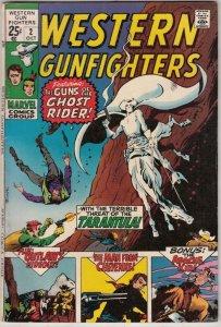 Western Gunfighters #2 (Oct-70) VF/NM High-Grade Ghost Rider, Wyatt Earp, Bla...