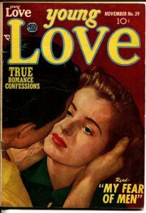 Young Love #39 1952-Prize-Simon & Kirby-photo art-VG+