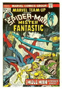 Marvel Team-Up 17   Spiderman & Mr. Fantastic