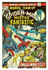 Marvel Team-Up 17   Spiderman & Mr. Fantastic