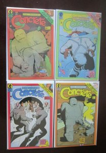 Concrete comic lot all 15 different books 8.0 VF