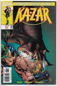 Ka-Zar (vol. 3, 1997) # 6 VG Waid/Rinaldi, Andy Kubert cover