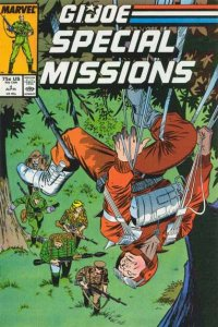 G.I. Joe Special Missions (1986 series) #4, NM + (Stock photo)