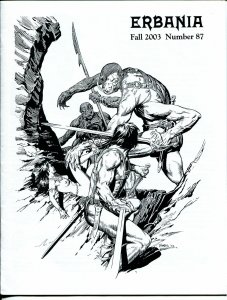 Erbania #87 2003-Edgar Rice Burroughs-Tarzan-Tom Yeates-Brian Kane-info-pix- VG