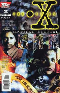 X-Files, The Special #2 VF/NM; Topps | save on shipping - details inside